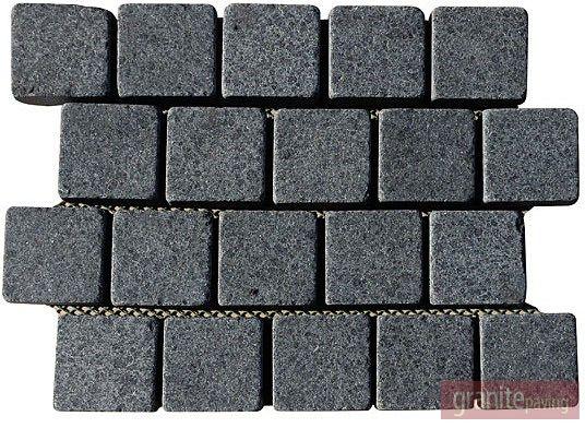 Basalt paver samples granite paving for Basalt pavers